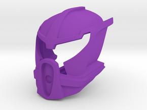 Noble Kanohi Ignika in Purple Processed Versatile Plastic