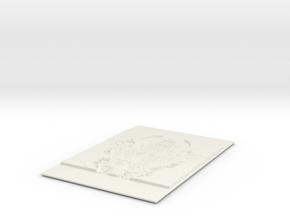 FireShapeMan in White Natural Versatile Plastic