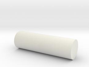 Shaft in White Natural Versatile Plastic