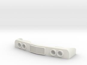 Motorpost Lamp unit in White Natural Versatile Plastic