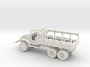 1/72 Scale GMC CCKW Troop Truck in White Natural Versatile Plastic