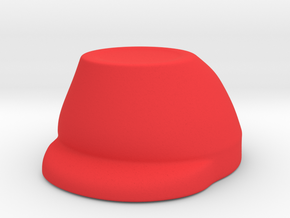 French WW1 Infantry Hat  in Red Processed Versatile Plastic