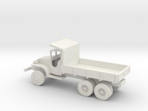 1/72 Scale GMC CCKW Dump Truck in White Natural Versatile Plastic