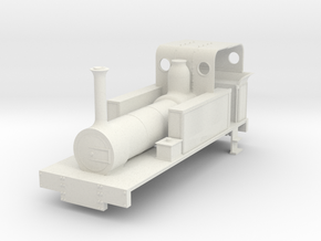 b-re-43-mw-eskdale-loco in White Natural Versatile Plastic