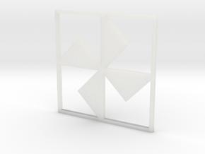Turnstile in Smooth Fine Detail Plastic