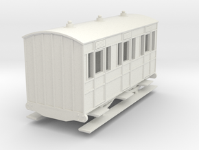 o-re-87-eskdale-1st-class-coach in White Natural Versatile Plastic