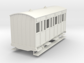 o-re-55-eskdale-3rd-class-coach in White Natural Versatile Plastic