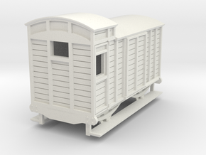 o-re-100-eskdale-brake-van in White Natural Versatile Plastic