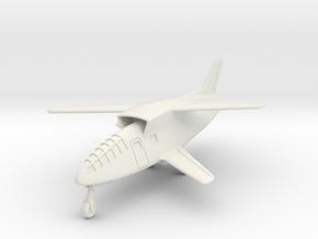 (1:144) Messerschmitt 'Courier' in White Natural Versatile Plastic