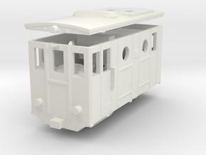 Schynige Platte Bahn static  in White Natural Versatile Plastic