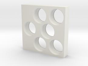 Logitech G500 weight cartridge in White Natural Versatile Plastic