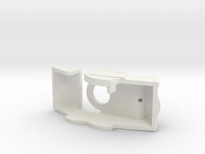 Pred Shoulder in White Natural Versatile Plastic