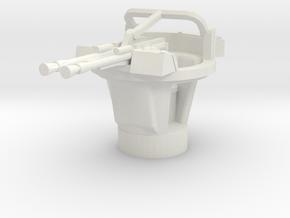 BTR 152 A turret 1/76 in White Natural Versatile Plastic