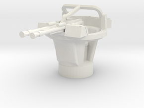 BTR 152 A turret 1/72 in White Natural Versatile Plastic