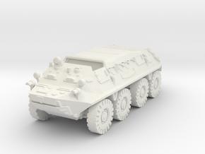 BTR 60 P (closed) 1/76 in White Natural Versatile Plastic