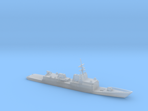 1/3000  Scale General Dynamics FFG(X) Proposal in Smooth Fine Detail Plastic