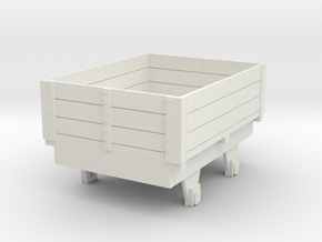 0-re-55-eskdale-ore-wagon in White Natural Versatile Plastic