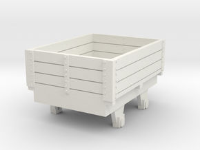 0-re-76-eskdale-ore-wagon in White Natural Versatile Plastic