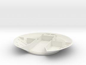 Lost in Space Jupiter 2 S-N-G Bottom in White Natural Versatile Plastic