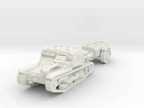 cv35 flamethrower 1/72 in White Natural Versatile Plastic
