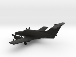 Embraer EMB-121 Xingu in Black Natural Versatile Plastic: 1:200