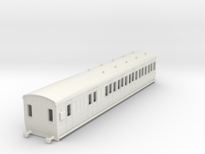 o-100-gcr-london-sub-brake-3rd-coach in White Natural Versatile Plastic