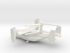 Bell Boeing V-22 Osprey in White Natural Versatile Plastic: 1:72