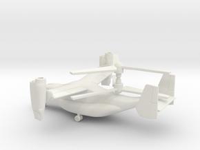Bell Boeing V-22 Osprey in White Natural Versatile Plastic: 1:100