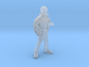 Smug Smuggler in Smooth Fine Detail Plastic