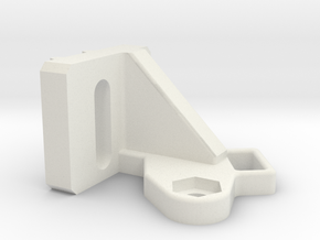 BL Touch mount for Creality mount in White Natural Versatile Plastic