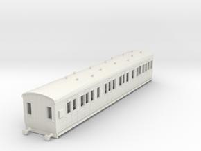 o-87-gcr-lav-composite-brake-coach in White Natural Versatile Plastic