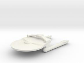 Miranda Class  (tos era) in White Natural Versatile Plastic