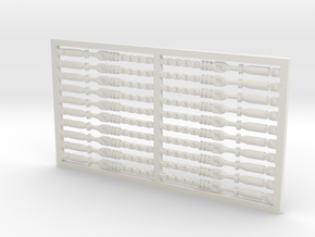 Chain Binder 20 Pack 1-50 in White Natural Versatile Plastic