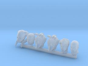 Custom Head Configuration 1 in Smooth Fine Detail Plastic