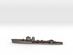 Italian Lince torpedo boat 1:2400 WW2 in Polished Bronzed-Silver Steel