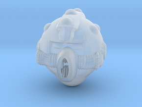 Gramald Helmet Sm in Smooth Fine Detail Plastic