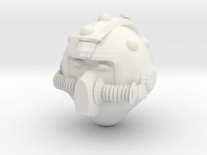 Gramald Helmet Smv1 in White Natural Versatile Plastic