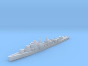 USS Lindsey destroyer ml 1:3000 WW2 in Smoothest Fine Detail Plastic