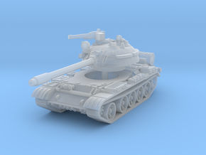 T55 A Tank 1/220 in Smooth Fine Detail Plastic
