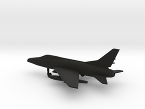 North American F-100C Super Sabre in Black Natural Versatile Plastic: 1:200