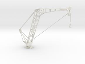 1/72 USN Aircraft Crane in White Natural Versatile Plastic