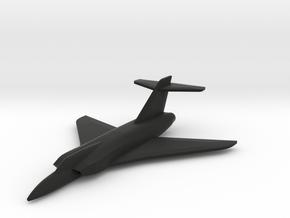 Grumman XF-12F  in Black Natural Versatile Plastic