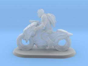 1/64 Gaslands Modern Motorcycle Warrior Rider in Smooth Fine Detail Plastic