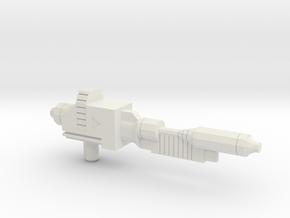 Swiper's Rifle Beta in White Natural Versatile Plastic
