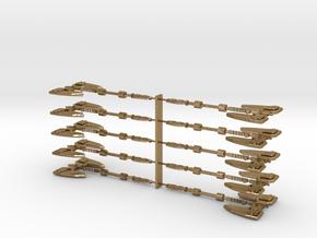 MasterMakedForceAxe Set in Polished Gold Steel