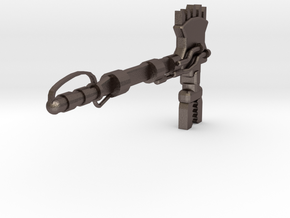 ForceAxe1pt in Polished Bronzed-Silver Steel
