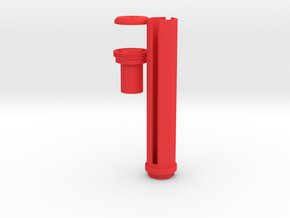 5-Rounds SpeedLoader for Nerf Kronos in Red Processed Versatile Plastic