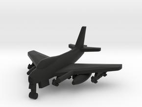 North American FJ-4 Fury in Black Natural Versatile Plastic: 1:500