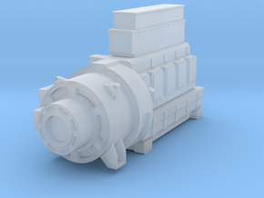 4SKRT Lower Engine in Smoothest Fine Detail Plastic