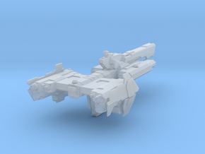 Halo Paris Class Frigate in Smooth Fine Detail Plastic